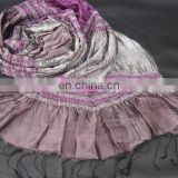 Pure Silk Scarf With Lycra