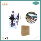 China factory supply Semi-automatic Handbag Rope Tipping Machine