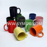 11 oz full color ceramic coffee mugs