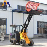 Multipurpose telescopic mini wheel loader M915