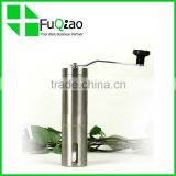 Trade Assurance Ceramic Burr Manual stainless steel commercial coffee grinder with scoop                                                                         Quality Choice