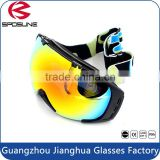 Prefect skate ski goggles detachable lens supper wide double lens anti fog youth snowboard goggles