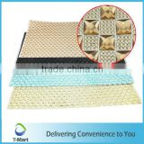 thin shoes accessories Square Epoxy Resin sheet for shoe decoration ceiling decorative mesh crystal sheet
