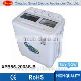 8.5kg drain pump washing machine twin tub