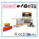 Long Life D/C/AA/AAA/9V Zinc Carbon Battery                                                                         Quality Choice