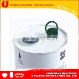 Popular in Pakistan high quality 24mm tin pour cap with theft proof ring,olive oil cover lids
