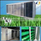 Soilless culture hydroponic barley feed sprouting system for poultry,Cattle Sheep Horse Animal Livestock