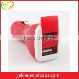 For Moto G/E/X red / yellow/ orange 2 USB car charger