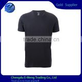 Short Sleeve Custom plain Brand T shirt without Pocket