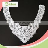 Widentextile Nylon and Cotton White Embroidery Neck Lace, Chemical Lace Collar For Women Clothing