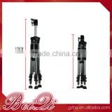 Wholesale aluminum ajustable head tripod high quality standing mannequin training for beauty salon