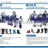PVC plastic rain boots\shoes injection moulding machine \lady&man plastic boots machine