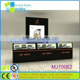 2014 newest design wholesale high power led light features lockable watch countertop showcase display stand