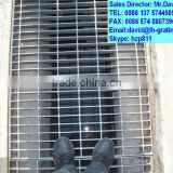 galvanized water drainage steel grating, galvanized steel gratings for rain water drainage channels