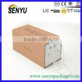 paper packaging luxury apparel boxes white gift bag