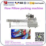 Automatic Soda Biscuit packing machine, Cracker sealing Machinery PLC control touch screen