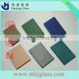 HAOJING 1mm clear ford blue reflective float glass sheet                                                                         Quality Choice