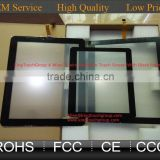 7 9 10 10.1 10.4 12.1 13.3 14.1 15 15.6 17 18.5 19 21.5 22 inch Flat resistive touch screen panel with black frame