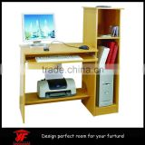 Modern students small bookcase with study table cum computer table