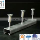 t bolt and cold rolled stainless steel cast in channel for cable application