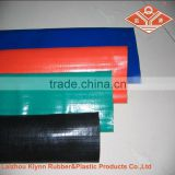Red/Blue Color PVC Layflat Hose With Camlock Fittings C+E, China