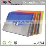 Office File Case A4 Transparent Plastic PP Expanding Document File Box Folder Paper File Folder