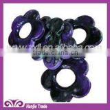 Colorful Flower Acrylic Beads For Garment Or Necklace