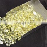 AAA Beautiful Natural Lemon Topaz Cabs 6X8mm Pear Shape Loose Gemstone Beads Bead Cabochon Beads