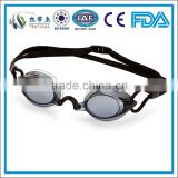 Custom competition swimming goggles in smoke lens , triathlon swimming goggles ,best waterproof swimming goggles ,
