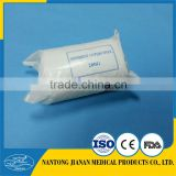 200g plastic bag packing absorbent sterile cotton roll BP standard