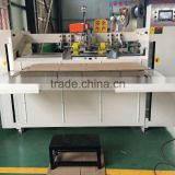 semi-automatic corrugated carton stapler machine carton box packing machine