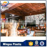 Factory supply interior PVC ceiling decoration for living room pvc ceiling,restaurant ceiling decoration