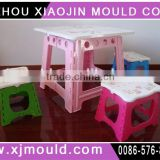 plastic foldable child Table Mould,folding child table mold supplier