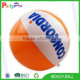 Partopro Hot Custom Design Wholesale Inflatable Ball Outdoor Eco-friendly Cheap Beach Ball