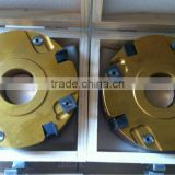 Rabbeting Cutter Heads With Changeable Knives Grooving And Planer Cutter For Cutting Wood