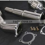 VW GOLF MK4 1.8T TURBO 20v for AUDI A3 1.8T STAINLESS STEEL EXHAUST DECAT DOWNPIPE