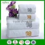 china wholesale luxury custom logo cotton bath towel                                                                                                         Supplier's Choice