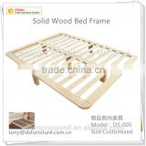 Solid wood bed frame base Knock Down Bed slats Poplar Birch