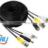 BNC Video RCA Audio DC Power Extension Cable for CCTV Cameras