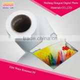 Latex certificated PP paper inkjet printing roll banner
