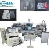 Automatic Turntable High Frequency Welding machine for blister package, toothbrush package