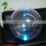 Hongyi Advertising Decorating PVC LED Ball Inflatable Lighting LED Balloon Weights Balloon