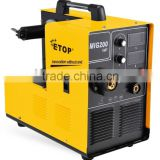 Hot selling IGBT inverter technology MIG/MAG/CO2 gas shielded welder