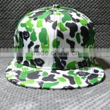 Wholesale Custom Hawaii Floral Printing Snapback Cap Hat,Design Your Own Snapback Hat Online