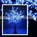 2.5m White LED Cherry Blossom Tree Light for Outdoor Christmas Decoration