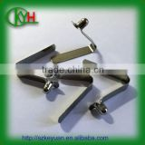 Various spring clip types stainless steel spring clip button