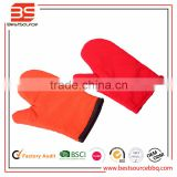 Cooking Gloves Heat Resistant Oven Mitts Barbecue BBQ Grilling Gloves Set Great for Barbeque Cooking Oven Baking