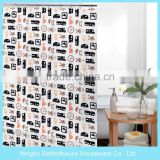 Ready Made Printing PEVA Shower Curtain for children