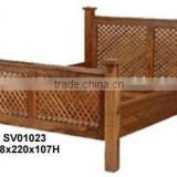 wooden bed,indian wooden furniture,4 poster bed,bedroom furniture,home furniture,shesham,mango wood furniture