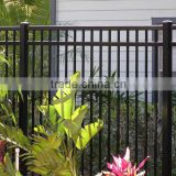 America Metal wrought iron fence for garden/ spear top iron fence for garden